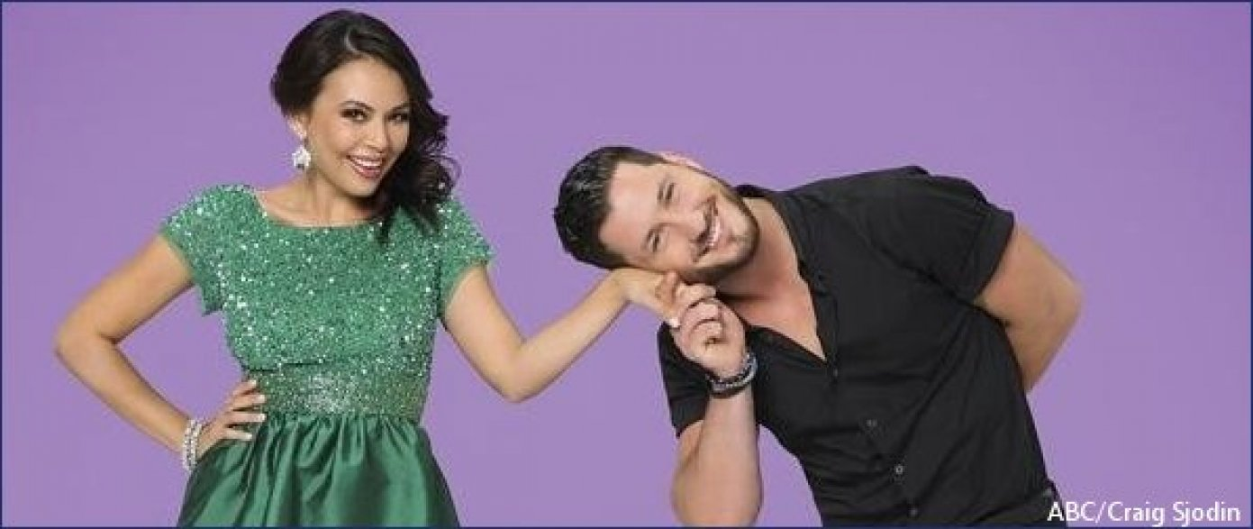 Hunter Parrish Dating Classy dancing with the stars' couple janel parrish and val chmerkovskiy