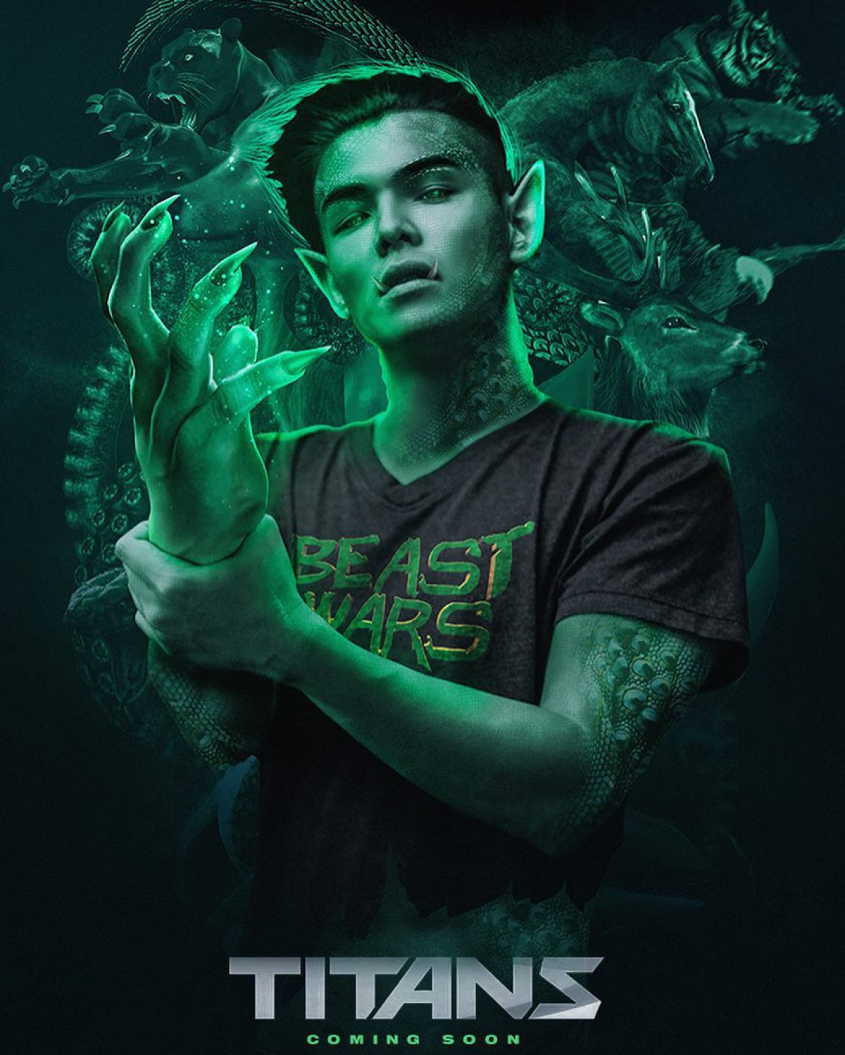 Joanna Chip Gaines Titans Tv Series Ryan Potter Cast As Beast Boy In
