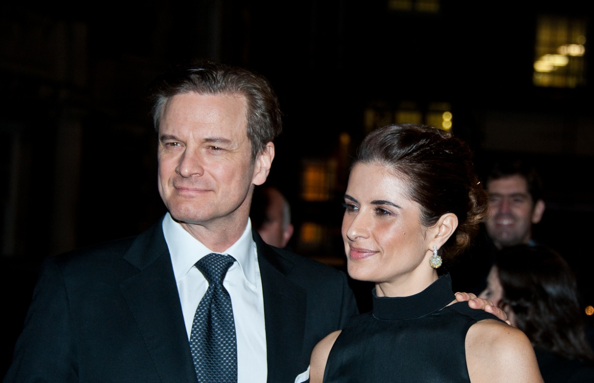 Colin Firth's wife Liv...
