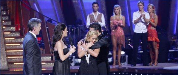 Sabrina Bryan and mark ballas dancing with the stars elimination