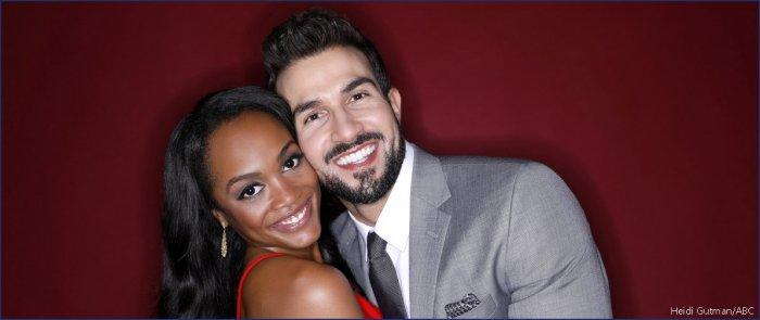 a2ad9aa7740f The Bachelorette  couple Rachel Lindsay and Bryan Abasolo leave ...
