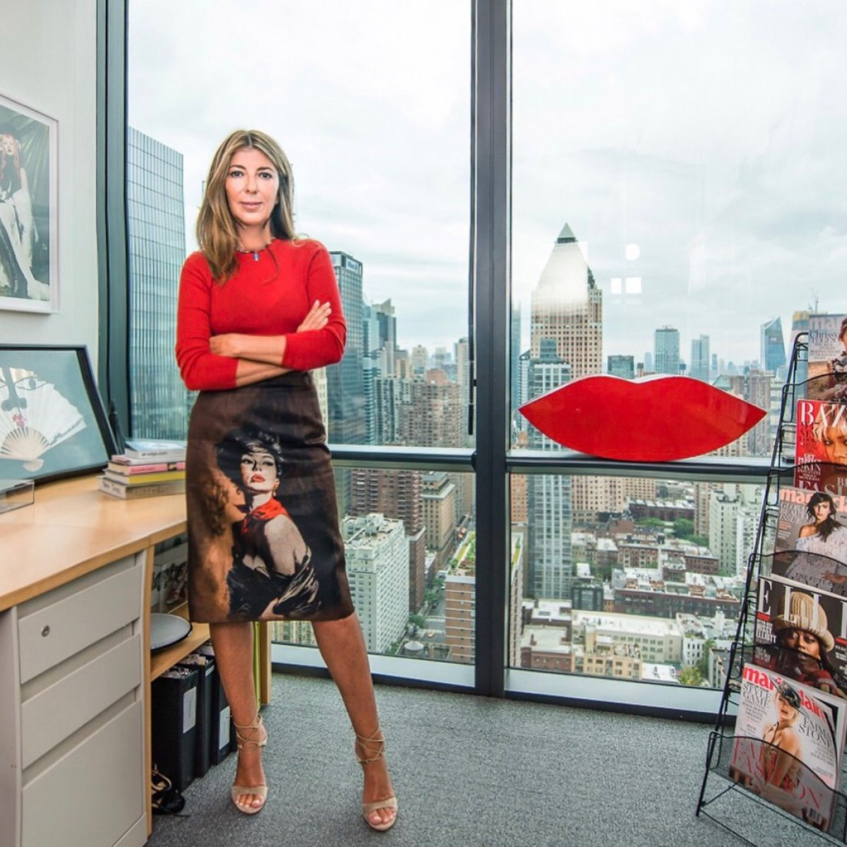 223105a64 Nina Garcia named new editor-in-chief of  Elle  magazine - Reality ...