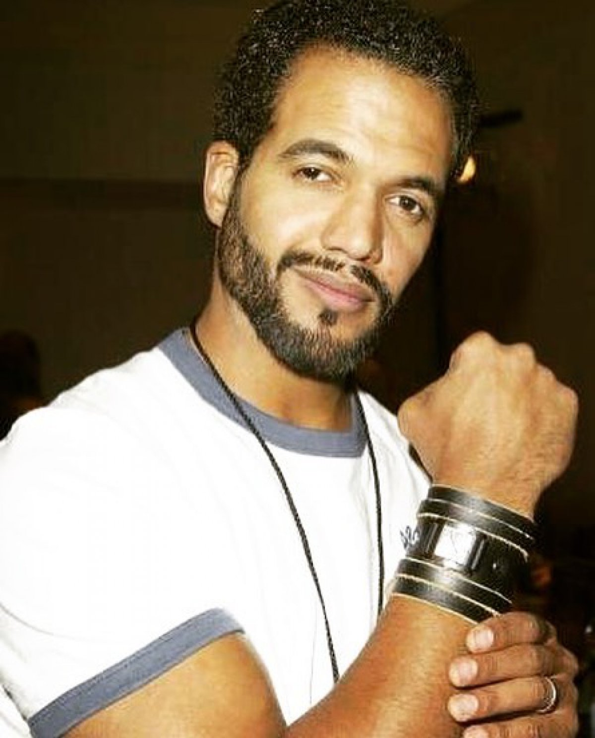 Kristoff St John took to social media to be one of the if not the first actors to welcome Josh Griffith back as the shows head writer
