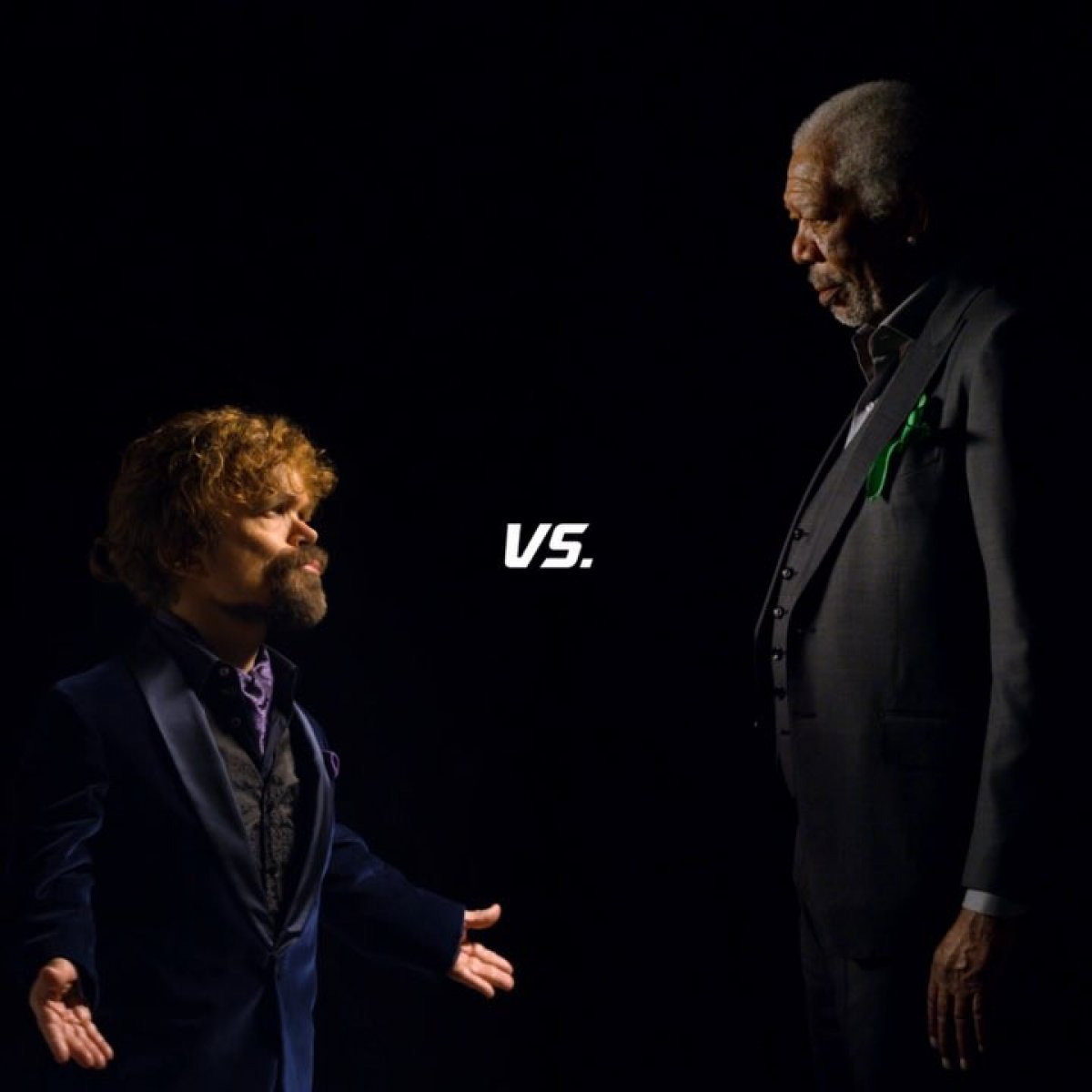Morgan Freeman And Peter Dinklage Have Lip Sync Rap Battle In Super Bowl Ad