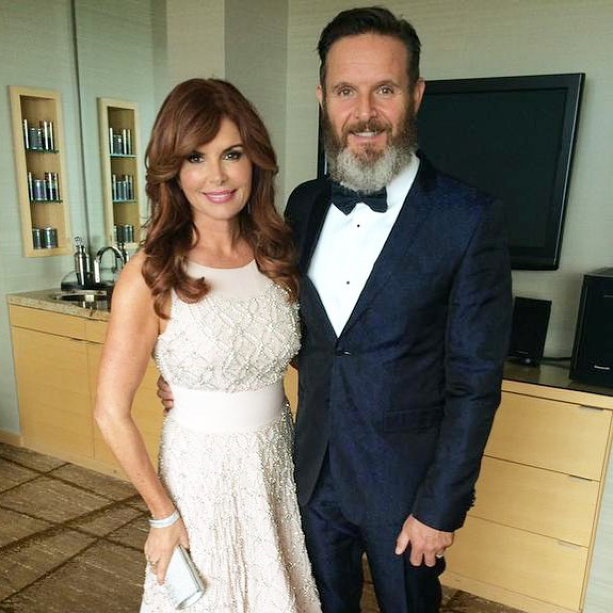 Big Brother Global Roma Downey Thanks God After Husband Mark