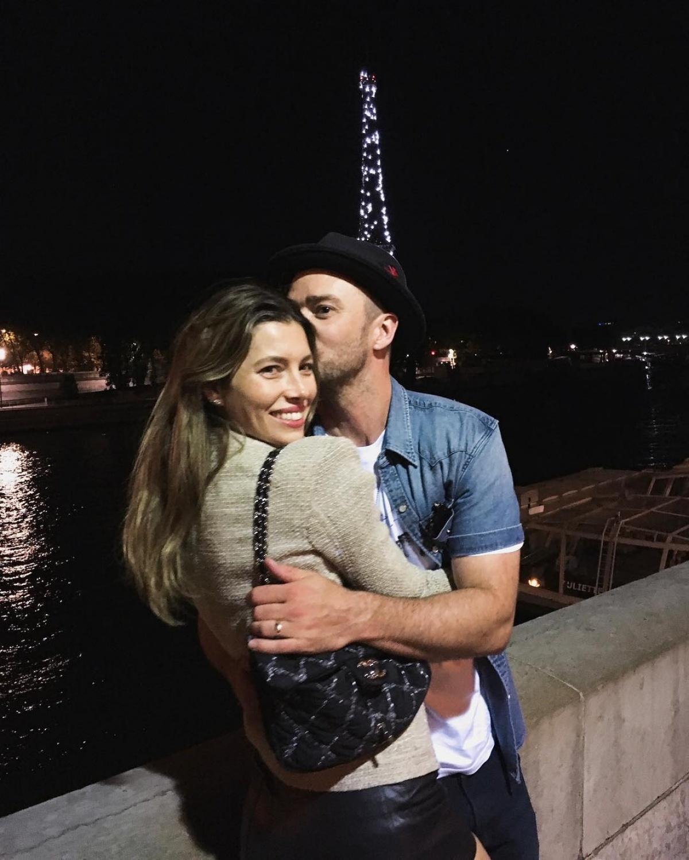 "Justin Timberlake And Jessica Biel Share A ""midnight"