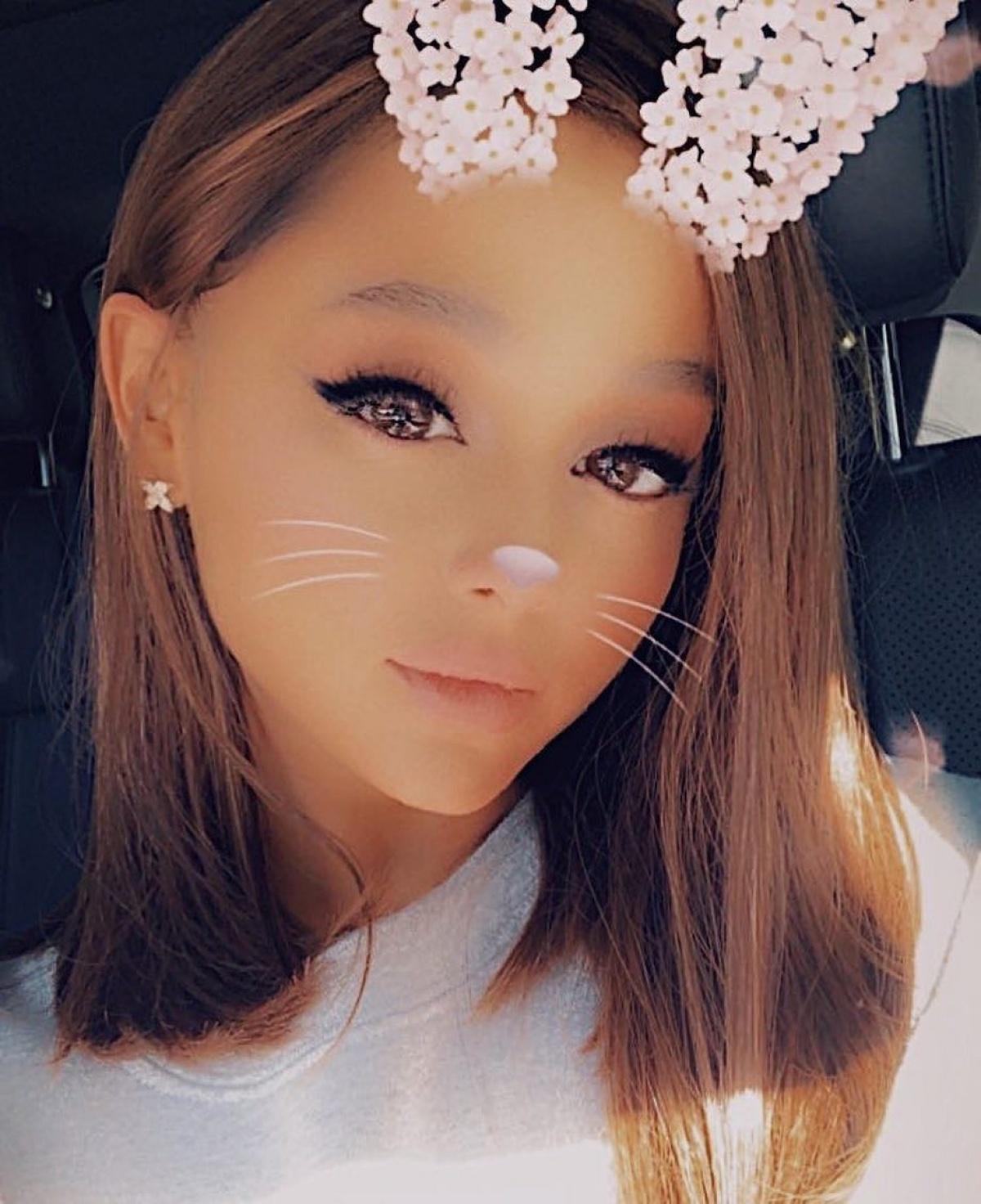 Ariana Grande Posts Rare Photo Of Her Natural Short Hair Reality