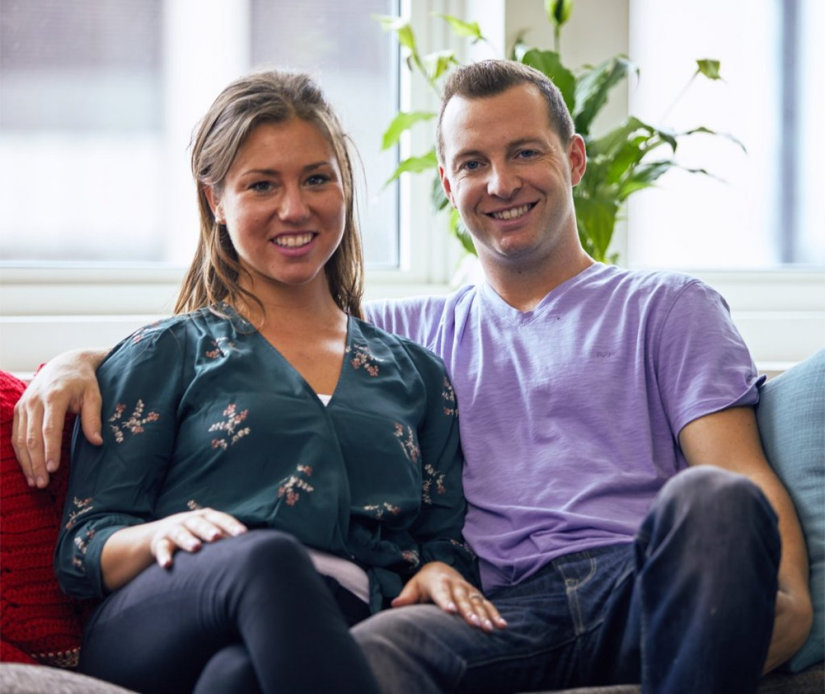513fd29765581e Married at First Sight's Jaclyn Schwartzberg and Ryan Buckley appear ...