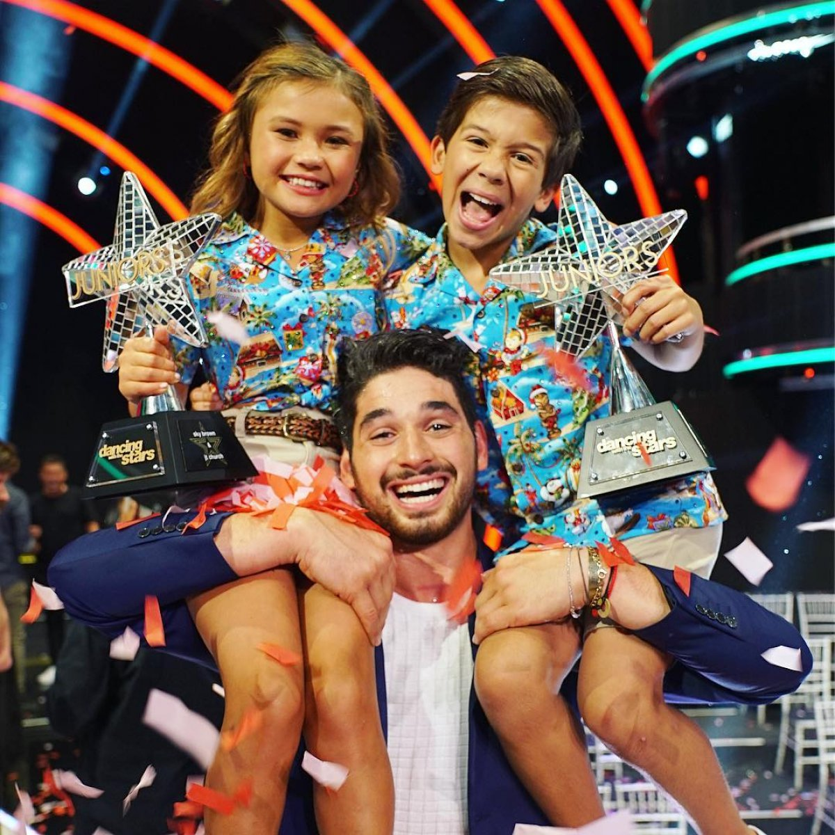 'Dancing With The Stars: Juniors' Crowns Sky Brown And JT