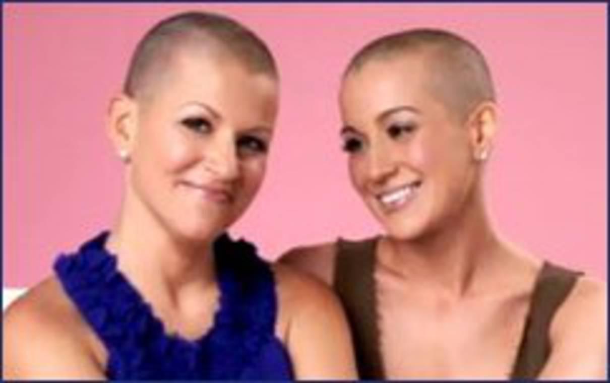 Kellie Pickler shaves head for cancer-stricken friend undergoing ...
