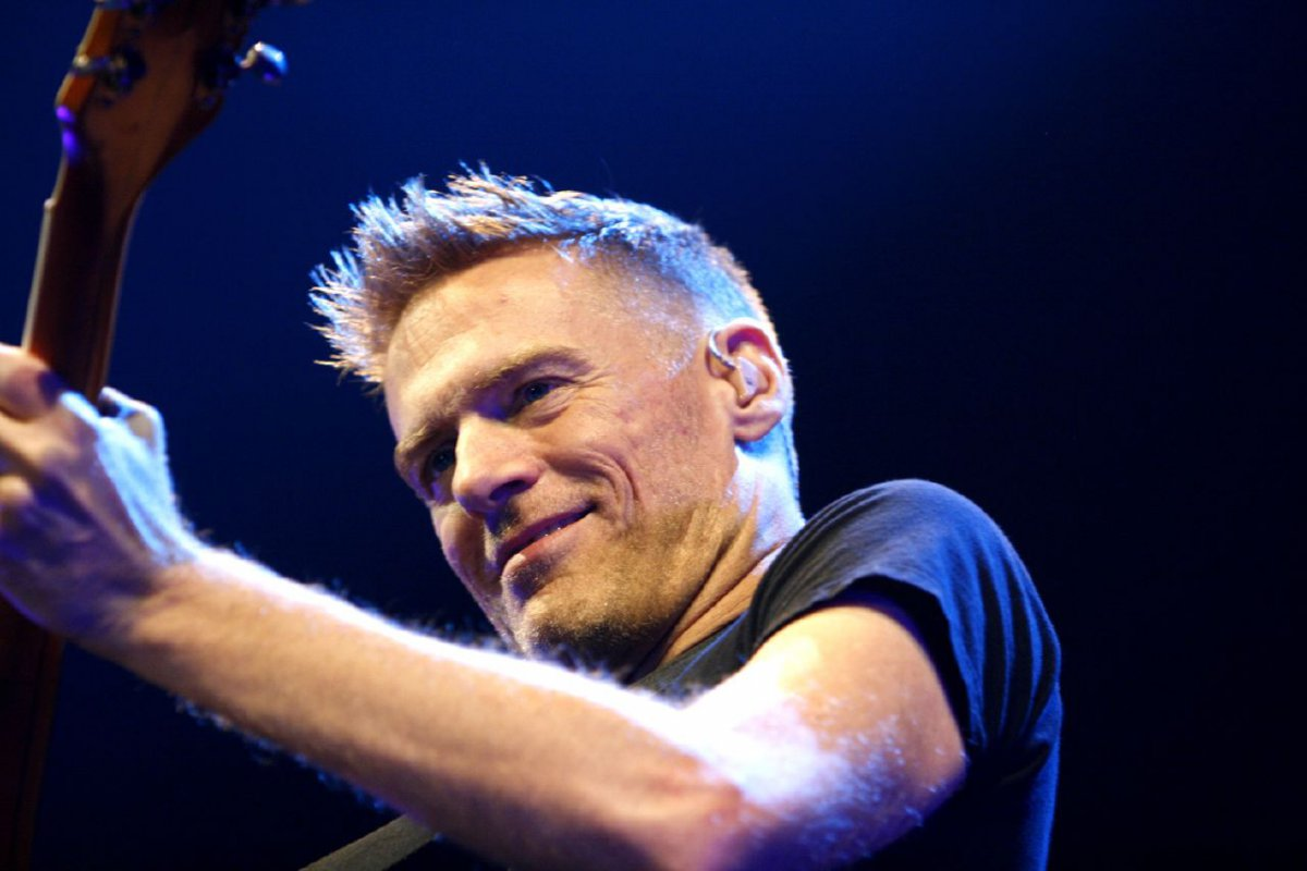 Rocker Bryan Adams took to hotels for his new \'Room Service\' album ...