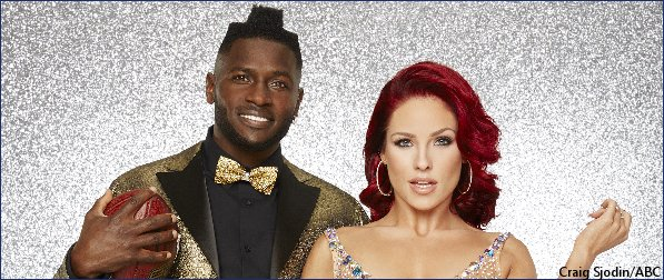 Antonio Brown Son >> Antonio Brown To Perform With Son On Dancing With The Stars