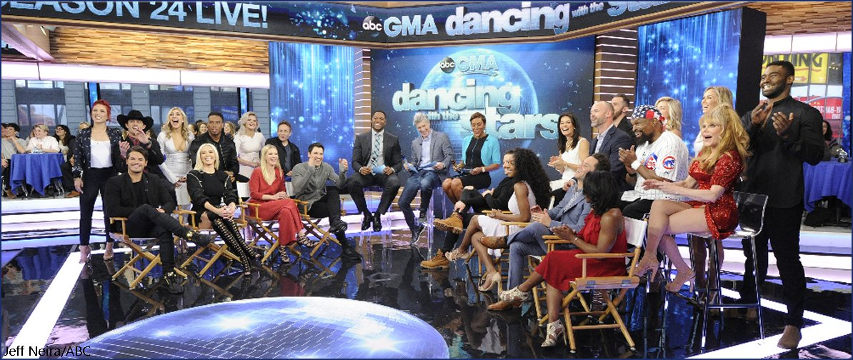 Dancing with the Stars' Season 24 cast officially announced